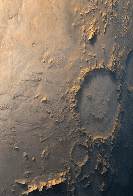Smiley Crater Wants To Be Your Friend
