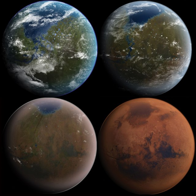 How to Make Model Planet Mars