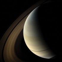 Twilight on Saturn