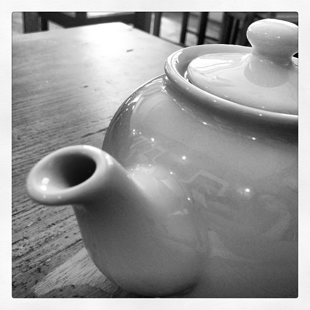 This was a pot of jade oolong. It was very soothing.