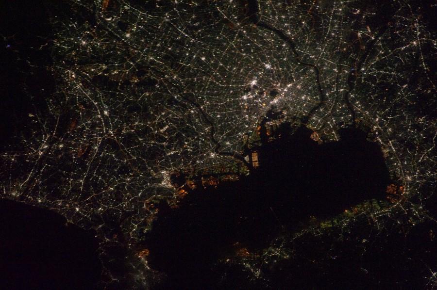 Tokyo from orbit