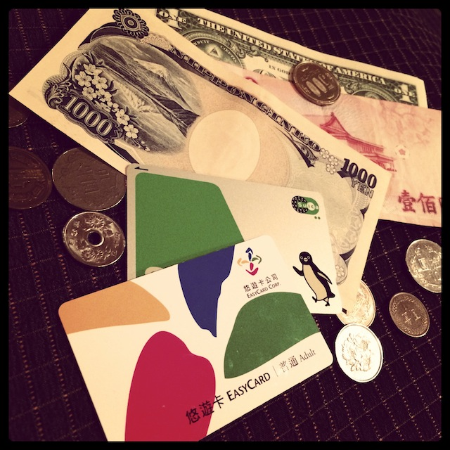 More currencies than most people should be carrying, I think...