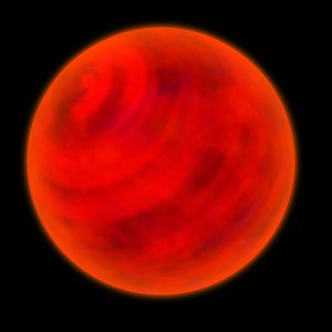 I'm genuinely curious about what a brown dwarf may look like from up close.