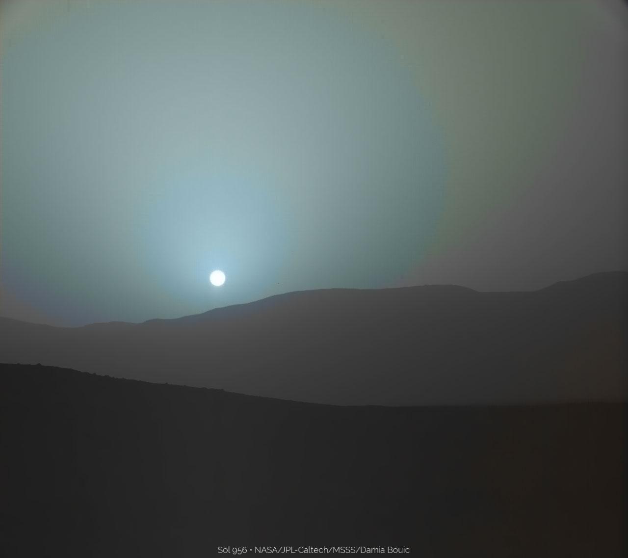 Martian Sunset | Supernova Condensate
