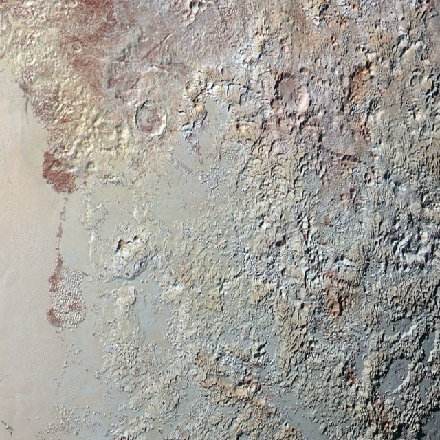 I sort of feel like Pluto might be a nice place to go hiking...