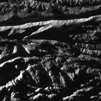 That narrow line across the middle of this image looks a bit like a fault line...