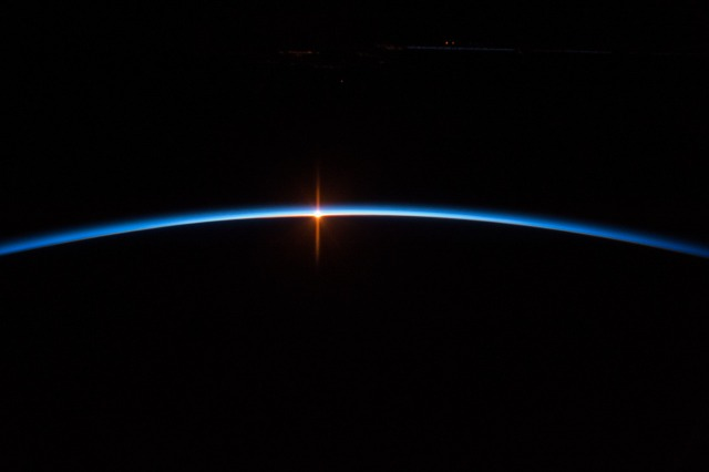 Sunrise from Orbit