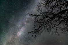 """Milky Way on Saturday. Makes you feel small, doesn't it?"""
