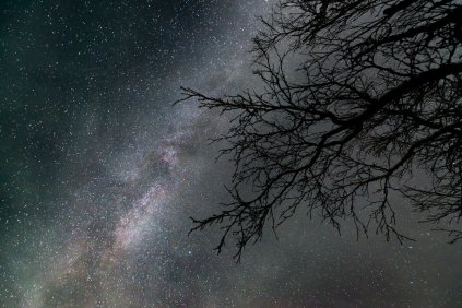 """""""Milky Way on Saturday. Makes you feel small, doesn't it?"""""""
