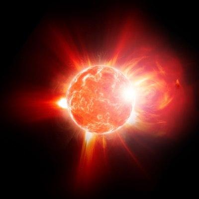 red-dwarf-flare